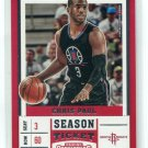 CHRIS PAUL 2017-18 Panini Contenders Draft Picks #8 Houston Rockets