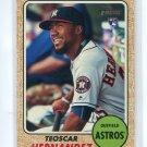TEOSCAR HERNANDEZ 2017 Topps Heritage #654 ROOKIE Astros