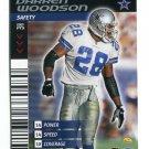 DARREN WOODSON 2001 NFL Showdown #25 Dallas Cowboys