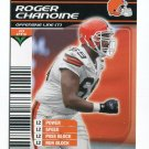 ROGER CHANOINE 2002 NFL Showdown #76 ROOKIE Temple Owls BROWNS - his only card!