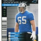 KEVIN DONNALLEY 2001 NFL Showdown #135 North Carolina UNC Tar Heels PANTHERS