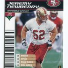 JEREMY NEWBERRY 2002 NFL Showdown #77 ROOKIE Cal Bears SF 49ers - his only card!