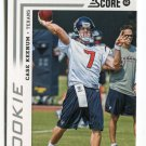 CASE KEENUM 2012 Panini Score #311 ROOKIE Houston Cougars TEXANS Vikings QB