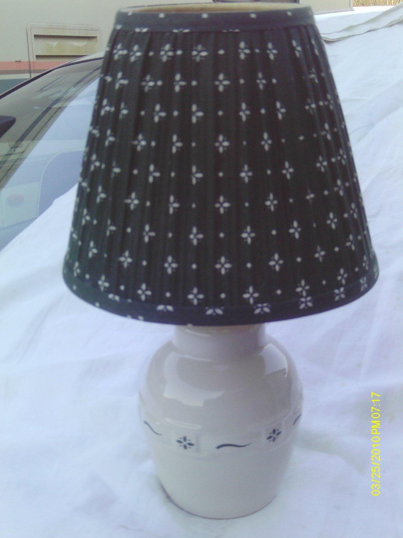 Longaberger Heritage Green Lamp