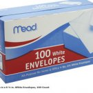 Plain Letter  Mailing Envelopes Standard Mead Business Office 100pk No. 6
