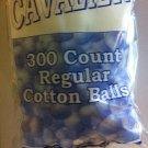 Standard Size Cotton Balls Bag Of 300 Cavalier For Cosmetic And Other Uses
