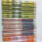 24 Pcs Pencils Lead Pencil School Office Supplies Wooden W Flag Dollar Designs