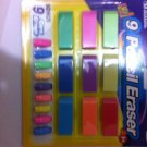 Large Standard Size Pencil Eraser And Caps New Complete Sets