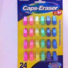 Bew Cap Erasers Eraser Fun Color For Learning School Supplies 24pk