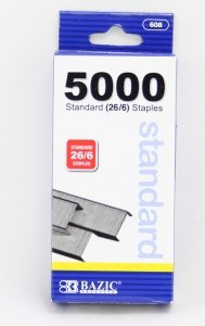 New office Supply Staples 5000 pcs Standard Size