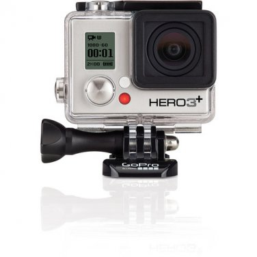 GoPro Hero 3+ Used Silver Edition With All Manufacturer Accessories