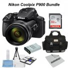Nikon Coolpix P900 Essential Camera Bundle