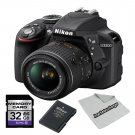 Nikon D3300 Digital SLR Camera With 18-55mm Lens kit