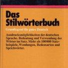 DUDEN--DAS STILWORTERBUCH--GERMAN TEXT
