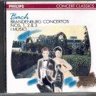 BACH: BRANDENBURG CONCERTOS NOS. 1, 2 & 3--CD