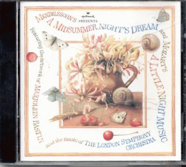 MENDELSSOHN'S A MIDSUMMER NIGHT'S DREAM--CD