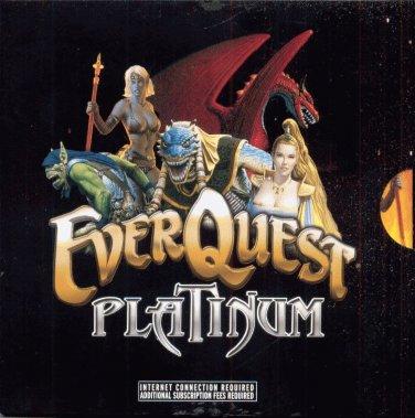 EVERQUEST PLATINUM--4-CD PC GAME