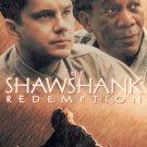 THE SHAWSHANK REDEMPTION--MORGAN FREEMAN--VHS