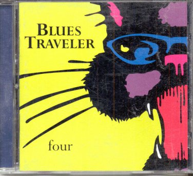 BLUES TRAVELER four--MUSIC CD