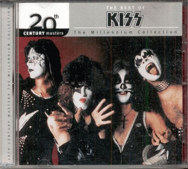THE BEST OF KISS--CD