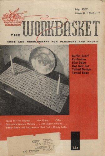 THE WORKBASKET MAGAZINE--JULY 1957