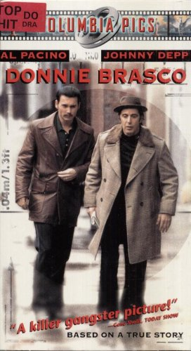 DONNIE BRASCO VHS