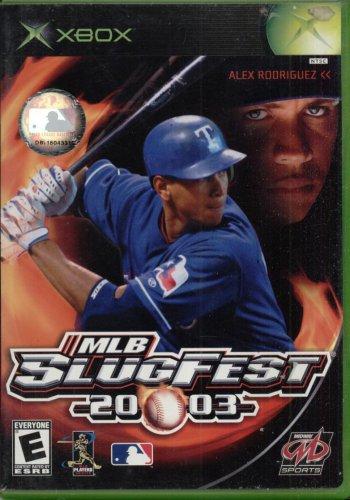 MLB SLUGFEST 2003--XBOX