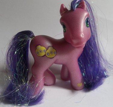 Kimono purple My Little Pony G3 yellow paper lamp symbol second release tinsel hair