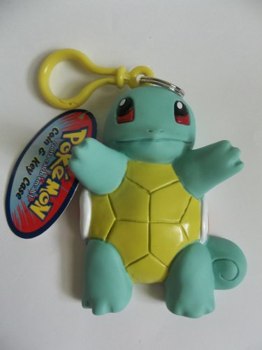 Pokemon Squirtle coin and key case purse holder keychain rubber vinyl with tag