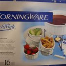 Corningware French White Fondue Set