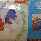 Winnie the Pooh Twin Sheet Set with Window Treatments