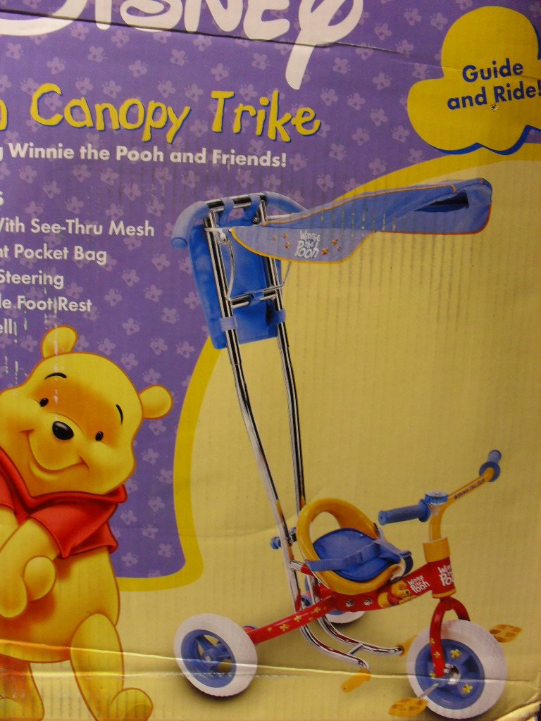Winnie the Pooh Child's Canopy Trike