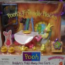 Winnie the Pooh Friendly Places Rabbit's Fold-Away Tea Cart