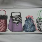 Ladies Fashion Purse Theme Wallpaper Border