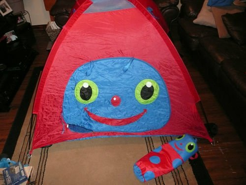 & Sunny Patch Kidu0027s Garden Ladybug Camping Play Tent