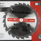 """Porter Cable 6-1/2"""" 24T Framing Blade - set of 2"""