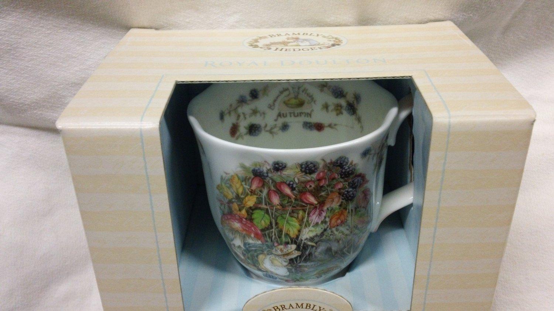 Brambly Hedge Royal Doulton AUTUMN Footed Mug