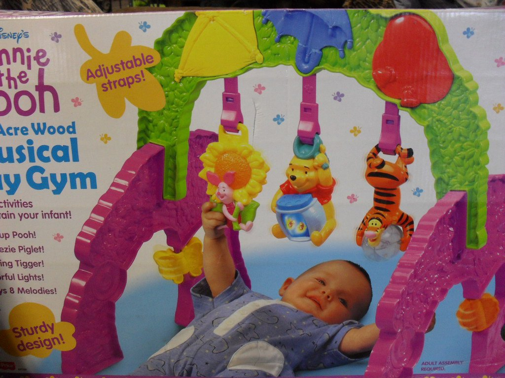 Winnie The Pooh Musical Baby Play Gym