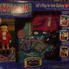"""Playmates Amazing Ally """"Let's Play In-line Skating"""" Adventure Ware Pack Mint!"""