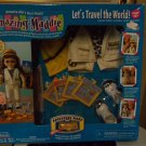 """Playmates Amazing Maddie """"Let's Travel the World"""" Adventure Ware Pack Mint!"""