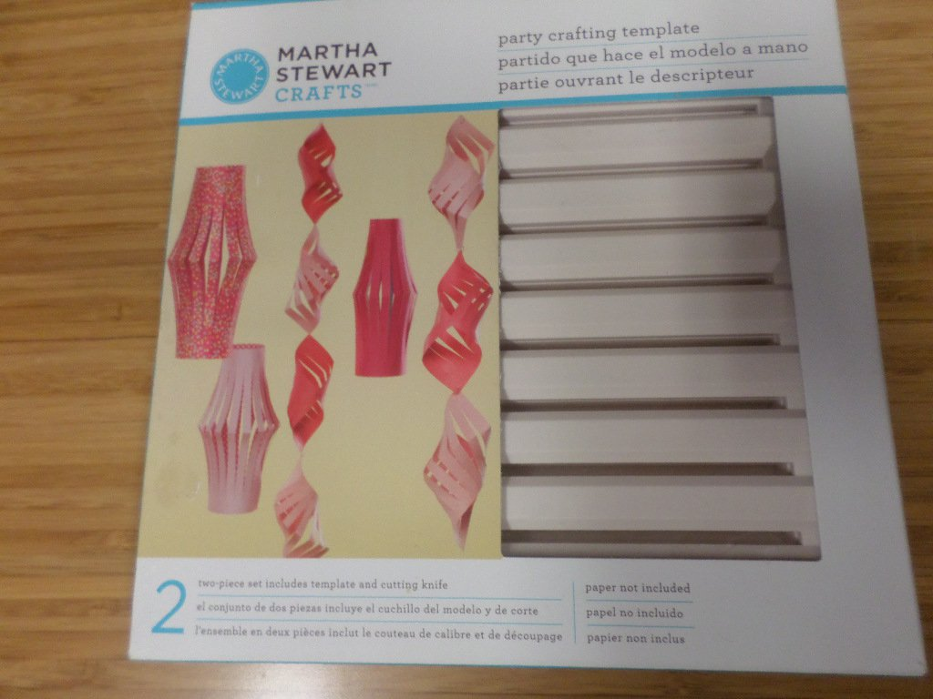 Martha Stewart Crafts Party Crafting Template