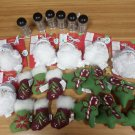 Holiday Cat Toy Lot with Catnip - 24 items