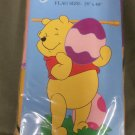 Happy Easter Winnie the Pooh Decorative Applique Flag