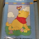 Butterfly Winnie the Pooh Decorative Applique Flag
