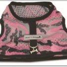 Cloak & Dawggie Step-N-Go Mesh Harness Pink Camo T2 Tiny