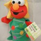 Sesame Street Elmo Beanie Baby Plush Holiday Pal