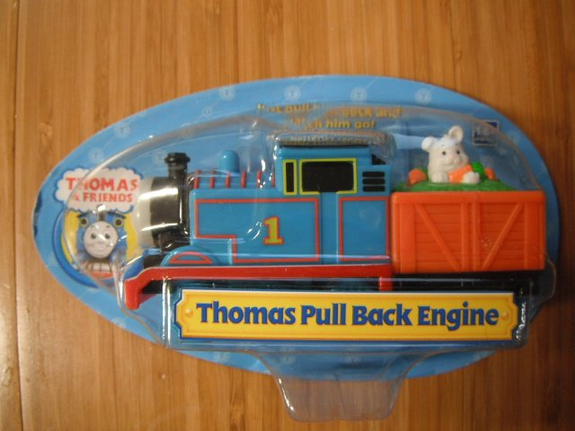 Thomas the Tank Pull Back Engine Train Car Easter - Rabbit