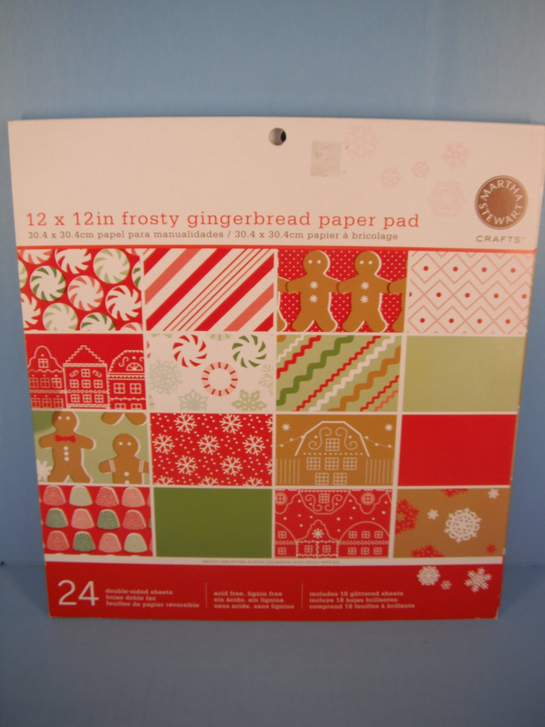 Martha Stewart Scrapbook Paper Pack