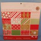 Martha Stewart Scrapbook Paper Pack