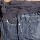 Liz Lange Dark Blue Boot Cut Maternity Jeans Size 8
